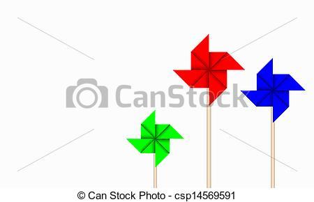 Windmill clipart paper windmill Paper Paper Windmill  Vector