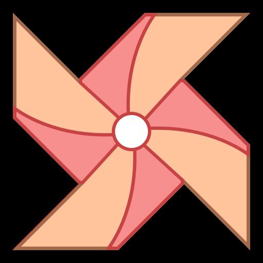 Windmill clipart paper windmill Icon image four represents center