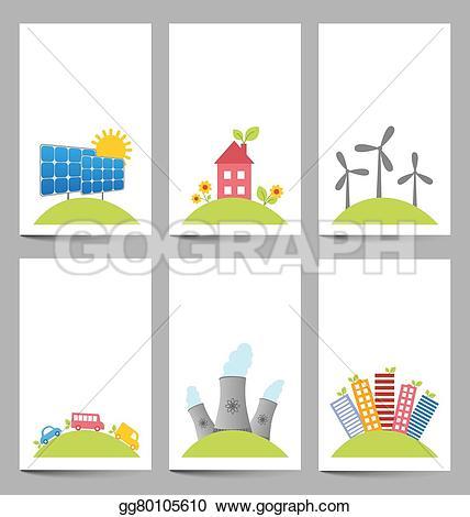Windmill clipart power plant Solar Illustration power plants gg80105610