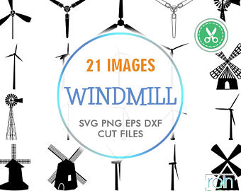 Windmill clipart stretch Turbine Svg Wind Art Windmill