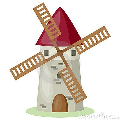 Windmill clipart stretch Cartoon images Windmill (400×400) jpg