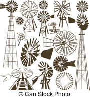 Windmill clipart western Collection Illustrations Clipart clip