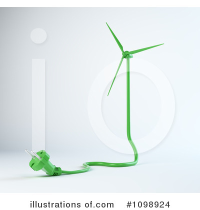 Wind Turbine clipart wind farm By #1098924 Mopic Clipart Illustration
