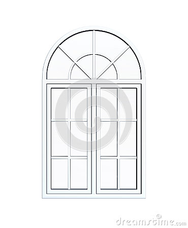 Window clipart arched window Photography Arch clipart Window White