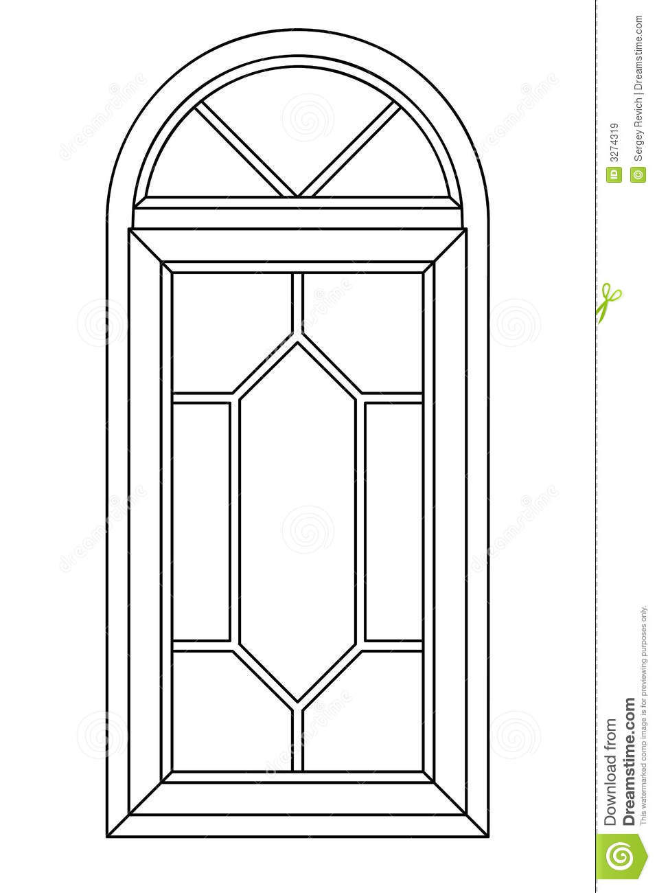 Window clipart arched window Window clipart Media clipart Arch