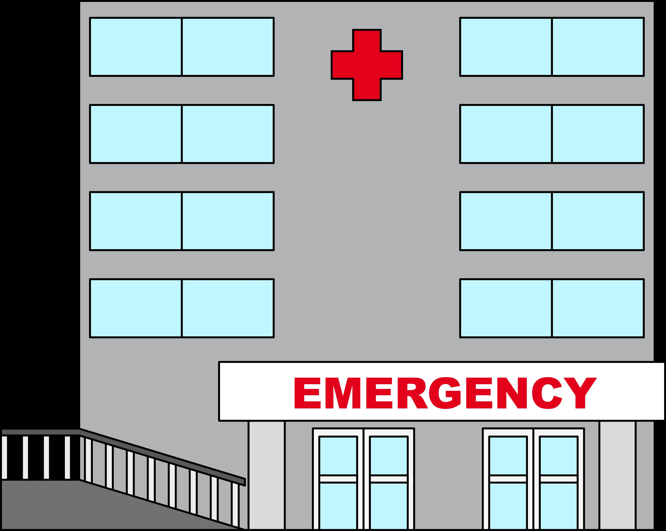 Window clipart hospital Hospital Zone Clipart Hospital Cliparts