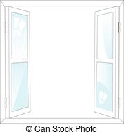 Window clipart opened Background window Open The and
