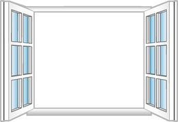 Window clipart opened Clipart Clip Art window%20clipart Free