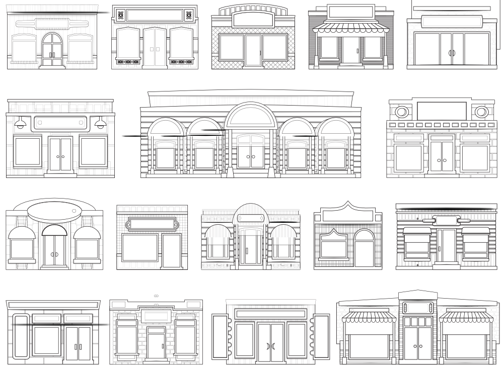 Window clipart store window White Store Store Clipart Best