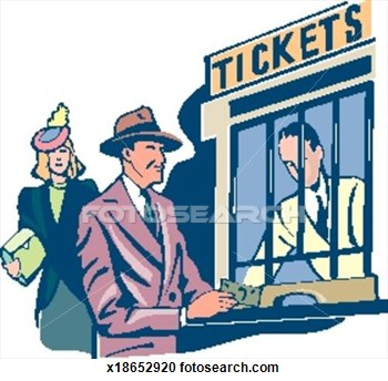 Window clipart the ticket Buying Ticket Clipart Free Ticket