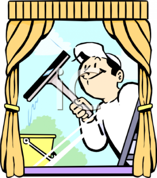 Window clipart washing windows Cleaning  clip art window