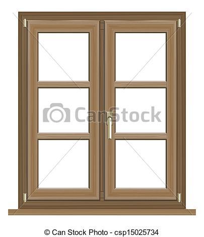 Window clipart wooden window Window window window Illustrations 076