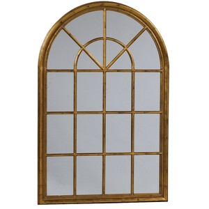 Windows clipart arched window Antique Window Mirror Polyvore Arch