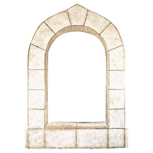 Windows clipart arched window Like (points Polyvore Doors Shutters