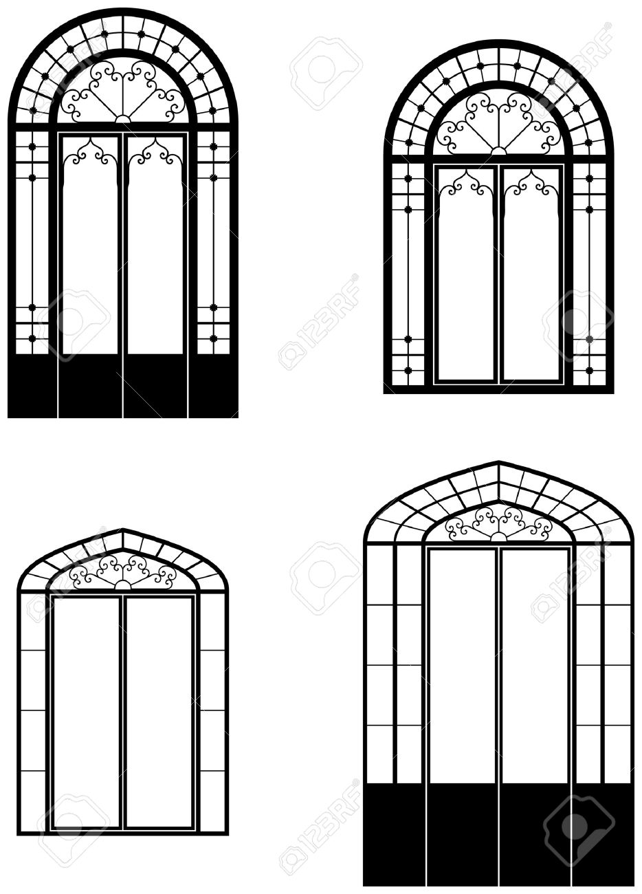 Windows clipart arched window Decoration For  Images pictures