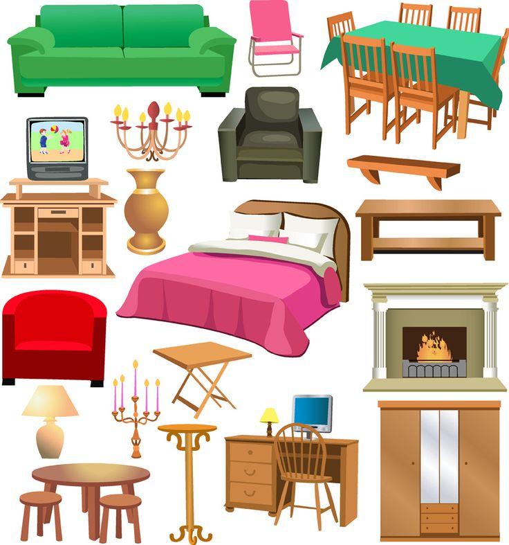 Windows clipart house furniture Best Pinterest Buscar furniture clipart