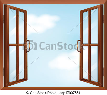 Windows clipart house windows Of Illustration A Vector window