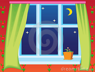 Windows clipart house windows Clipart window Red Royalty Through