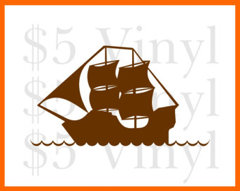 Windows clipart pirate ship MEDIUM Pirate Ship vinyl Vinyl