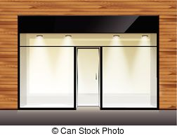 Windows clipart shop window With  Vectors Cafe Restaurant