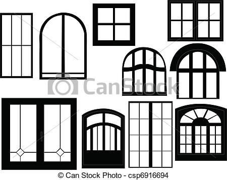 Windows clipart silhouette Best tegn images silhouette 8