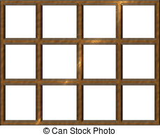 Window clipart window frame Squares  Illustrations with Window
