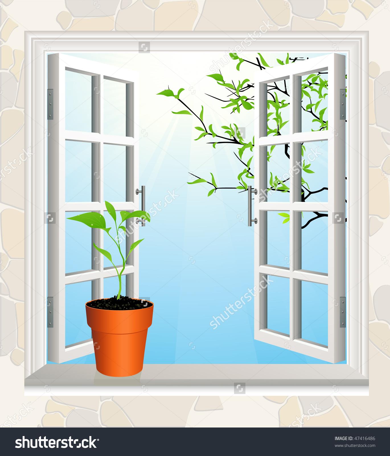 Window clipart window sill Windowsill clipart lightbox or Window