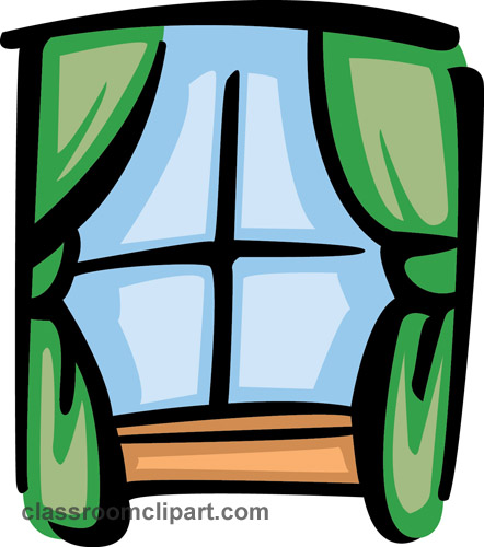 Curtain clipart classroom window With  Clipart Decorating art