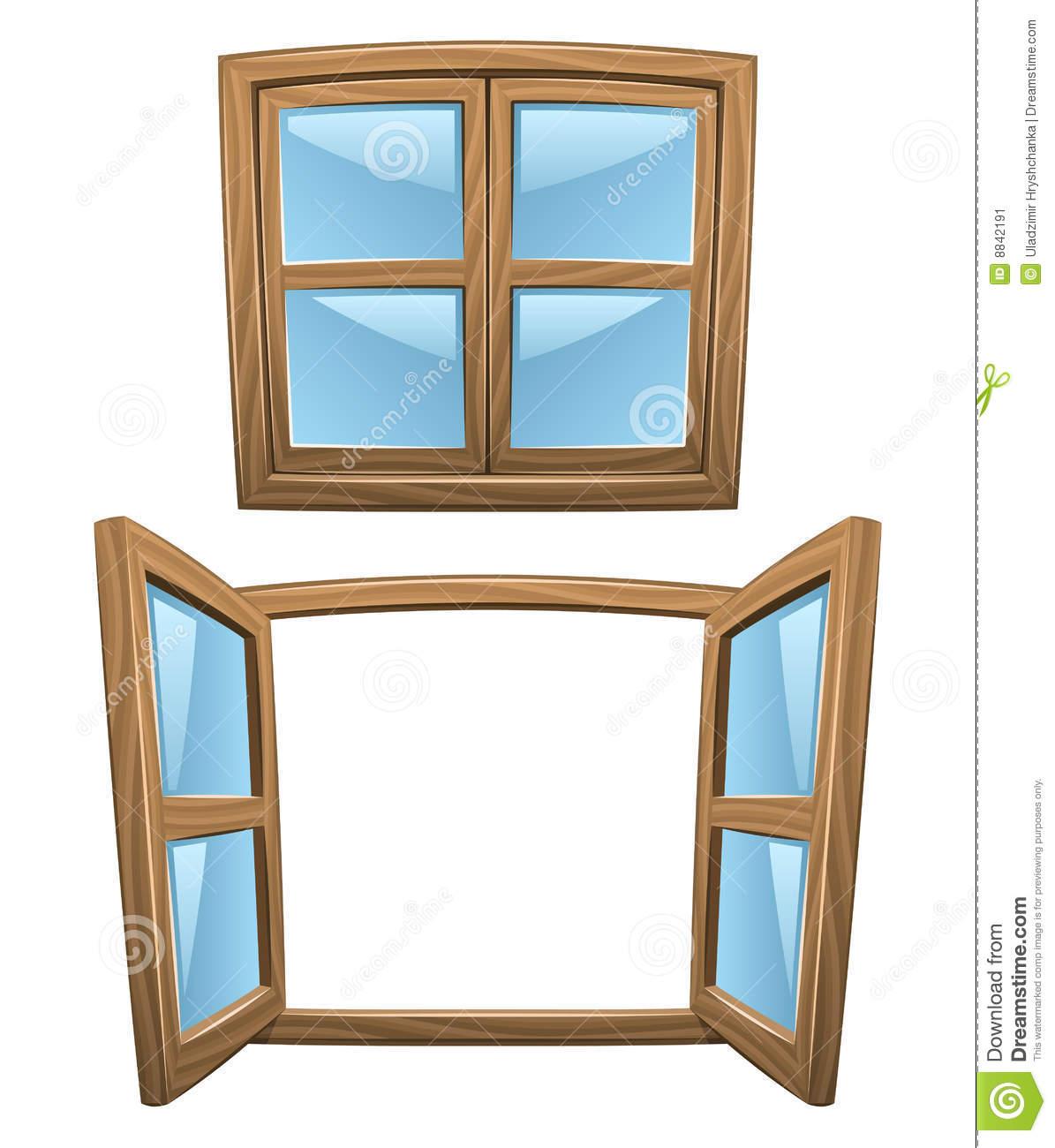 Window clipart wooden window Open Clipart Panda Clipart Clipart