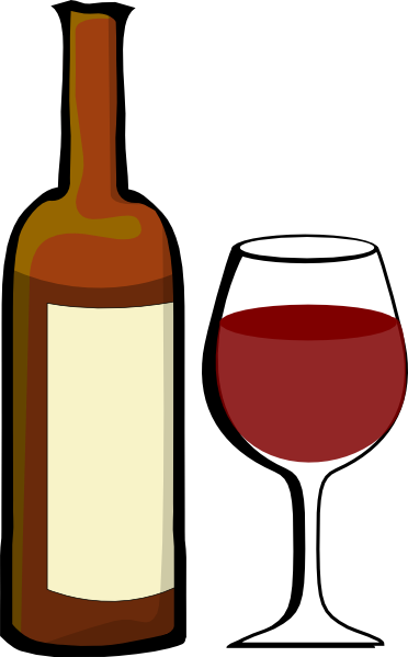 Alcohol clipart cartoon Free Wine clipart com clip
