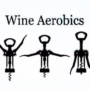 Wine clipart aerobic #Aerobics Pinterest work little Ps