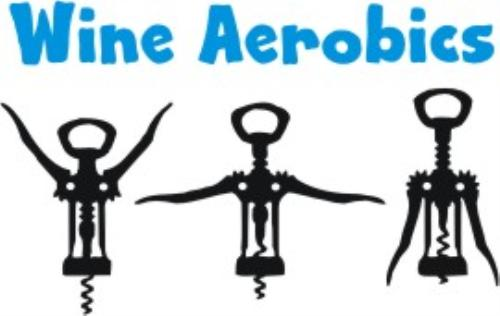 Wine clipart aerobic Embroidery product embroidery Gifts image