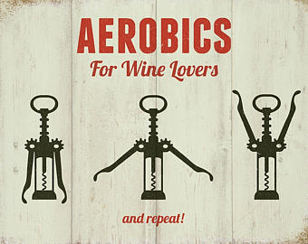Wine clipart line Lovers Mini Hanging Metal wine