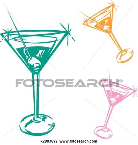 Wine clipart cocktail hour Glass Clip  Art Large
