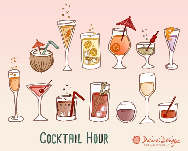 Wine clipart cocktail hour Pinterest glasses use clipart instant
