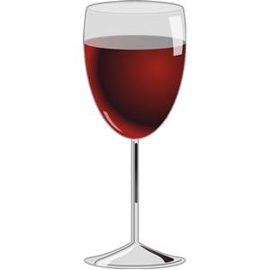 Wine clipart drink glass Of Glass wine of wine