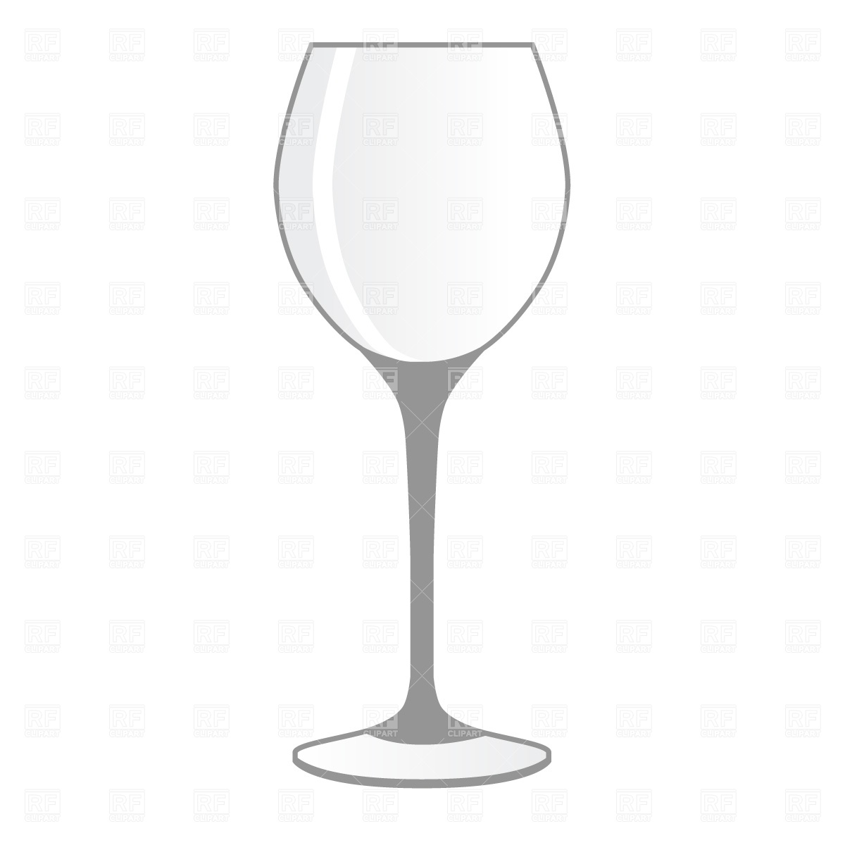 Wine clipart empty glass Collection empty Image Clipart Vector