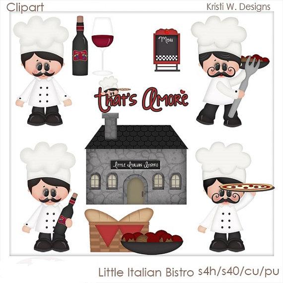 Wine clipart italian bistro Bistro Little on Little Italian