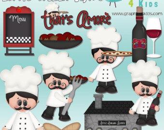 Wine clipart italian bistro DIGITAL Commercial scrapbooking  Digital