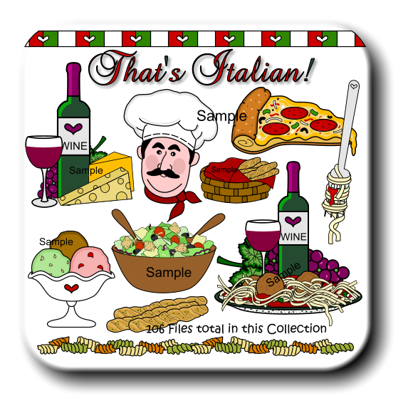 Wine clipart grape plant Family Italian Wine Italian Clipart