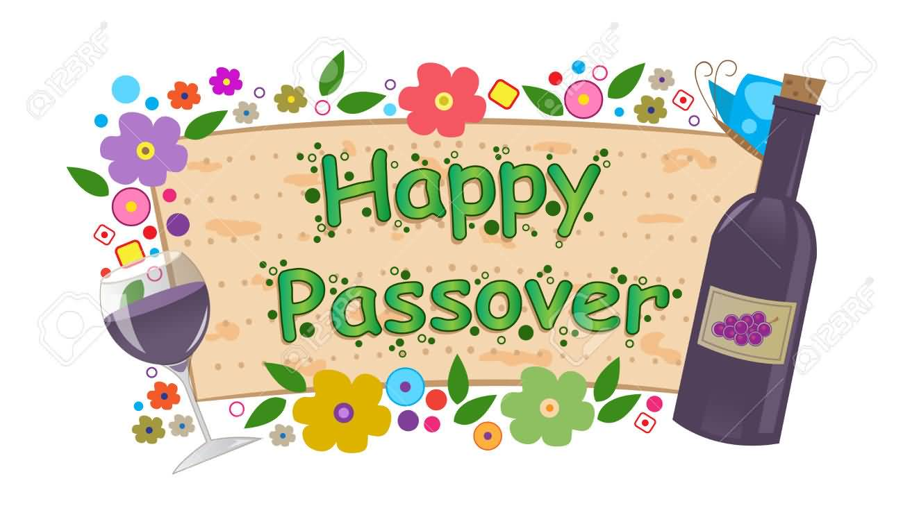 Wine clipart pesach Passover Passover collection Greeting clipart