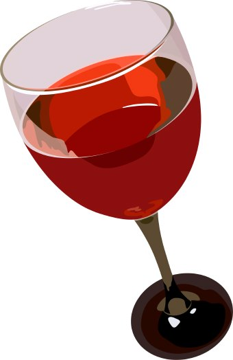 Wine clipart red wine Art Wine clip  Red