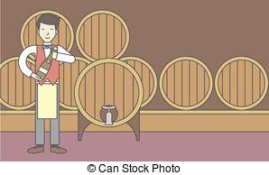 Wine clipart wine cellar With  asian cellar clip