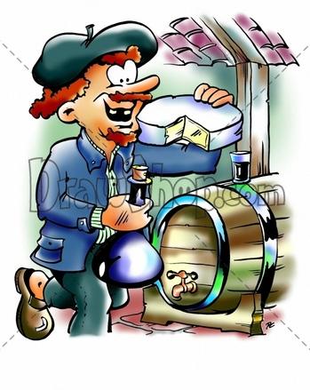 Wine clipart wine cellar Use Clip Illustrations DrawShop Vector