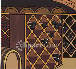 Wine clipart wine cellar Free Cellar Clipart Wine Royalty