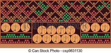 Wine clipart wine cellar Vector Wine Clipart is Vector