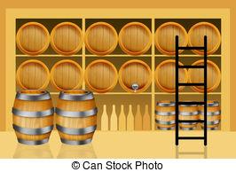 Wine clipart wine cellar 2 Stock Clipart cellar Wine