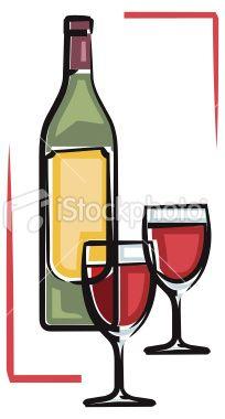 Wine clipart winery Bottle Art clip Winery art