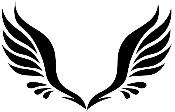 Halo clipart free wing Clipartix art angel wings image