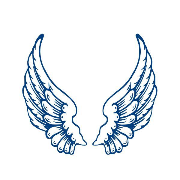 Wings clipart Template clip Angel art online